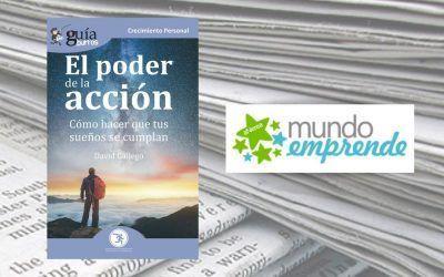 El «GuíaBurros: El poder de la acción» en la web de Mundo Emprende