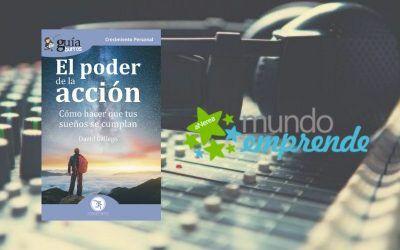 David Gallego presenta su libro en 'Mundo Emprende'